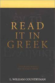 Read it in Greek: An Introduction to New Testament Greek