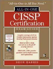 CISSP Certification: Exam by Shon Guide - Hardcover - from ShopBookShip and Biblio.com