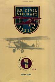 image of U.S. Civil Aircraft (Volume 1)