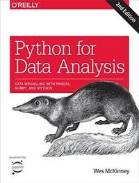 9781491957660 - Python for Data Analysis: Data Wrangling with Pandas