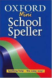 Oxford Mini School Speller