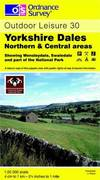 image of Yorkshire Dales: Northern and Central Areas (Outdoor Leisure Maps)