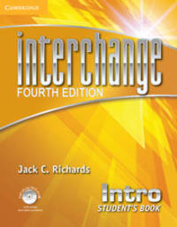 Interchange Intro Student's Book with Self-study DVD-ROM (Interchange Fourth Edition)