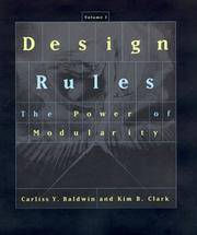 Design Rules, Vol. 1: The Power of Modularity by  Kim B  Carliss Y.; Clark - Hardcover - from Good Deals On Used Books and Biblio.com