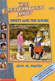 image of Kristy and the Snobs (The Baby-Sitters Club #11)