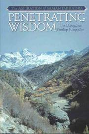 The Aspiration of Samantabhadra: Penetrating Wisdom by Dzogchen Ponlop Rinpoche - First Edition - 2006 - from after-words bookstore and Biblio.com