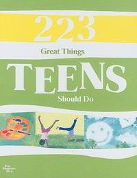 223 Great Things Teens Should Do by A Blue Mountain Arts Collection - from More Than Words Inc. (SKU: BOS-D-01c-01197)