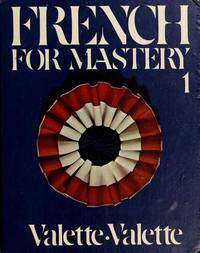 FRENCH FOR MASTERY 1