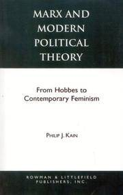 Marx and Modern Political Theory: From Hobbes to Contemporary Feminism (Studies in Social,...