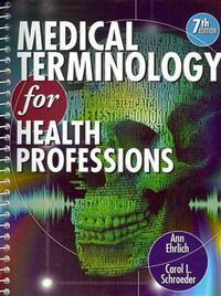 image of Medical Terminology for Health Professions (Book Only)