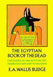 image of The Egyptian Book of the Dead-