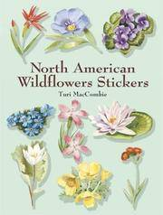North American Wildflowers Stickers (Dover Stickers)