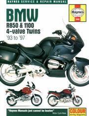 BMW R850 & 1100 4-Valve Twins 93 to 97 Haynes Service & Repair Manual