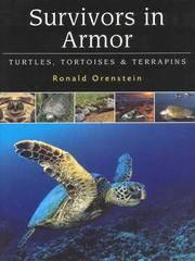 Survivors in Armor. Turtles, Tortoises and Terrapins