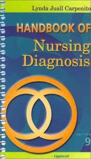 image of Handbook of Nursing Diagnosis