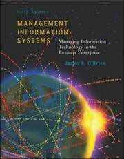 Management Information Systems Sixth Edition Managing Information Technology in the Business...