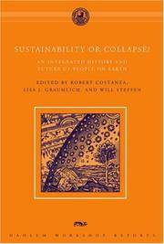 SUSTAINABILITY OR COLLAPSE? AN INTEGRATED HISTORY AND FUTURE OF PEOPLE ON EARTH