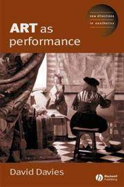 Art as Performance