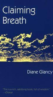 image of Claiming Breath (North American Indian Prose Award)