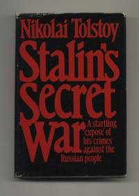 Stalin's Secret War by  Nikolai Tolstoy - Hardcover - 1981 - from Bingo Used Books and Biblio.com