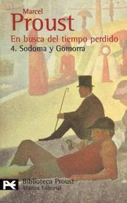 image of En busca del tiempo perdido. 4.Sodoma y Gomorra