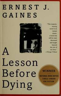 A Lesson Before Dying Book