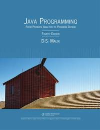 image of Java? Programming: From Problem Analysis to Program Design (Introduction to Programming)