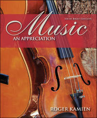 image of Music: An Appreciation Brief with Digital Music CD