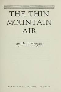 image of The Thin Mountain Air
