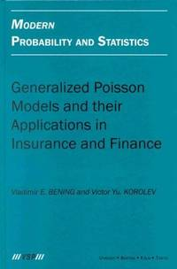 MODERN PROBABILITY AND STATISTICS GENERALIZED POISSON MODELS AND THEIR APPLICATIONS IN INSURANCE...