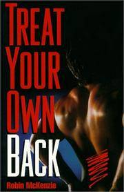 Treat Your Own Back, Seventh Edition by  Robin McKenzie - Paperback - 20 - from Adventures Underground and Biblio.co.uk