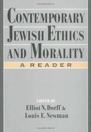 Contemporary Jewish Ethics and Morality: A Reader (Psychology; 2)