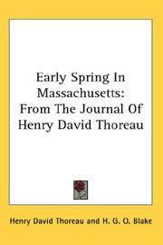 Early Spring In Massachusetts