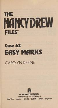 EASY MARKS (NANCY DREW FILES 62)