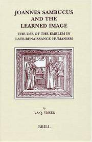 Joannes Sambucus and the learned image. The use of the emblem in late-renaissance humanism