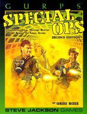 GURPS Special OPS Counterterrorism,Hostage Rescue and Behind the Lines Action