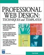Professional Web Design: Techniques and Templates (with CD-ROM) (Internet Series)