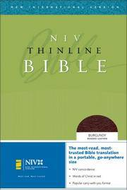 NIV Thinline Bible (New International Version)