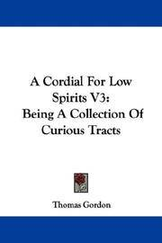 image of A Cordial For Low Spirits V3: Being A Collection Of Curious Tracts