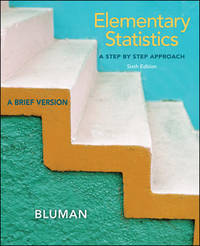 Elementary Statistics, Brief With Data Cd and Formula Card