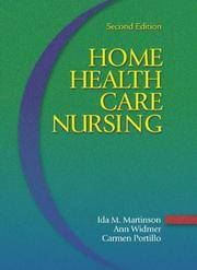 Home Health Care Nursing: 2nd Ed