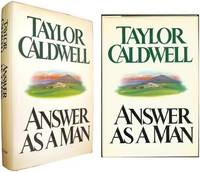 Answer As a Man by  Taylor Caldwell - First Edition - 1982-10-01 - from The Bookshelf (SKU: BMBUBH9393)