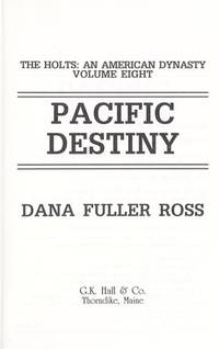 image of Pacific Destiny (G K Hall Large Print Book Series)