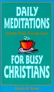 Daily Meditations for Busy Christians