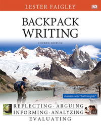 Backpack Writing (4th Edition)