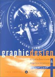 Graphic Design - Reproduction & Representation: A Critical Introduction - Reproduction and Representation Since 1800 (Studies in Design and Material Culture)