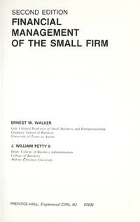Financial Management of the Small Firm