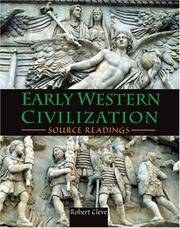EARLY WESTERN CIVILIZATION SOURCE READINGS - TEXT