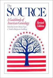 The Source: A Guidebook of American Genealogy (Revised Edition)
