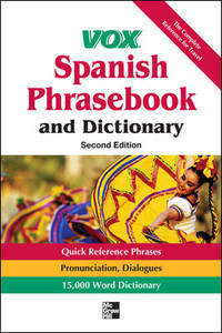 image of Vox Spanish Phrasebook and Dictionary